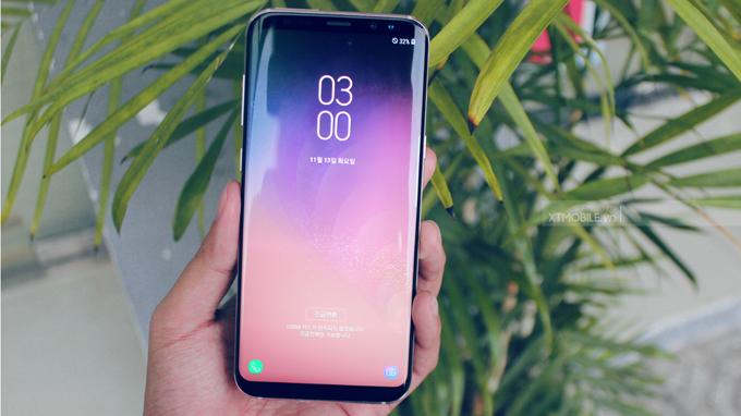 Galaxy S8 Plus xách tay Hàn Quốc sở hữu màn hình tràn viền khá lớn cho khả năng hiển thị nội dung thoải mái hơn hẵn