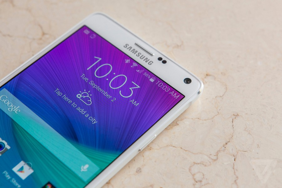 Thay loa thoại Galaxy Note 4