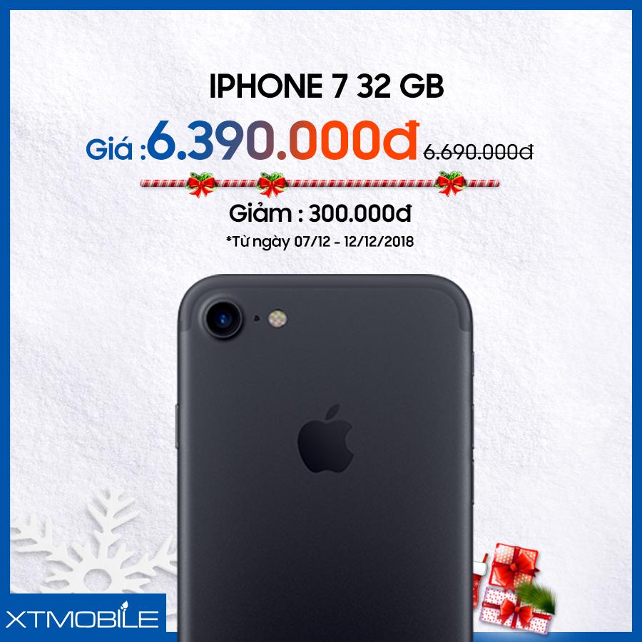 iPhone 7 32GB cũ giảm thêm 300 ngàn ở XTmobile