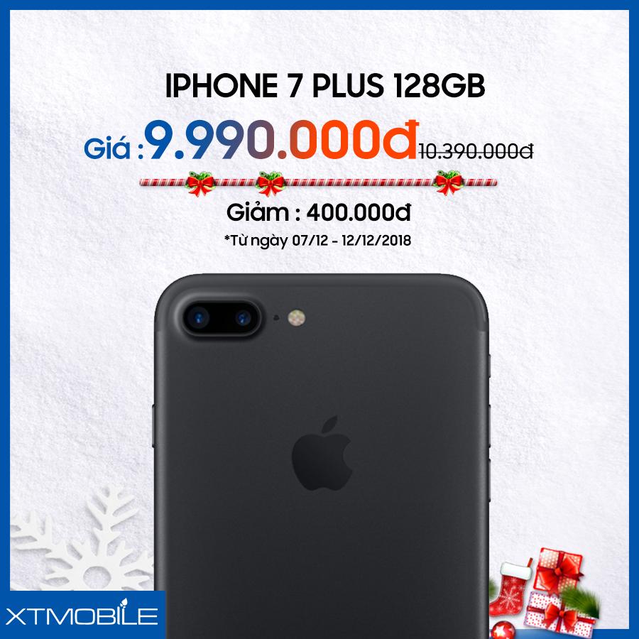 iPhone 7 Plus 128GB giảm đến 400 ngàn