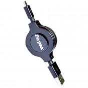 Cáp rút Energizer HT USB Micro 80 cm - C31UBRETEBK4