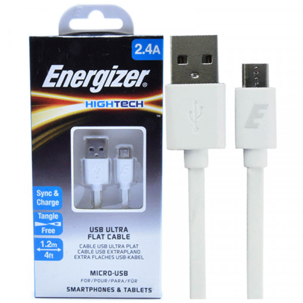Cáp Micro Energizer Hightech - C21UBMCG