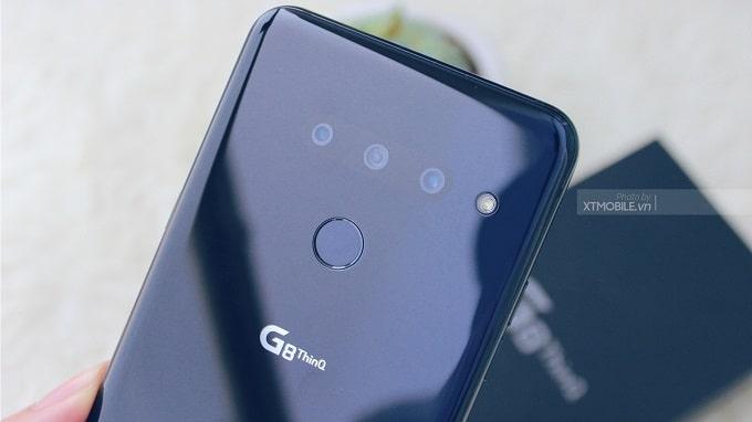 LG G8 ThinQ Hàn Quốc có 3 camera sau