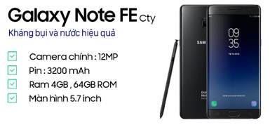 Samsung Galaxy Note FE - Fan Edition (CTy)