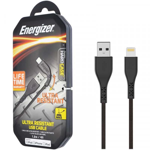 Cáp Lightning Energizer 1.2m LIFETIME - C41UBLIG