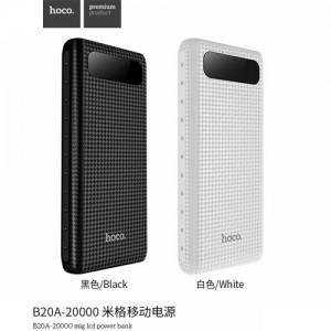 Sạc HOCO B20A 20000mAh - LCD - Đèn Pin