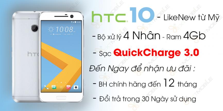 HTC 10 Cũ (likenew - 99%)