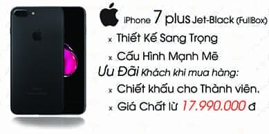iPhone 7 Plus 128GB - Bản Hàn Quốc (Đã Active)