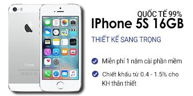 Iphone 5s 16Gb Quốc Tế 99%