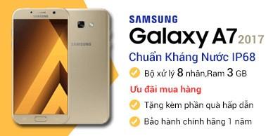 Samsung Galaxy A7 (2017) Chính Hãng - Hàng Trưng Bày