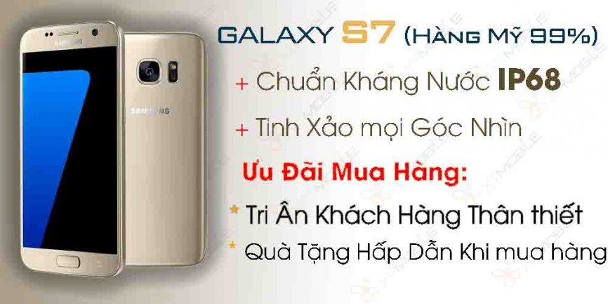 Samsung Galaxy S7 Likenew 99% (mỹ)