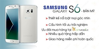 Samsung Galaxy S6 Bản Mỹ (99% – Likenew)