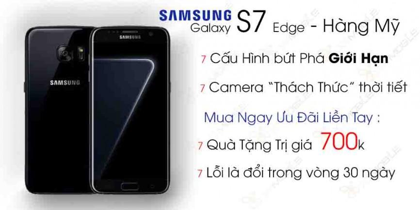 Samsung Galaxy S7 Edge Likenew 99% (Mỹ)