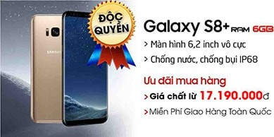 Samsung Galaxy S8 Plus Ram 6GB Hàn Quốc