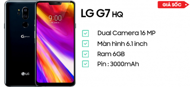 LG G7 Plus ThinQ Bản Hàn Quốc