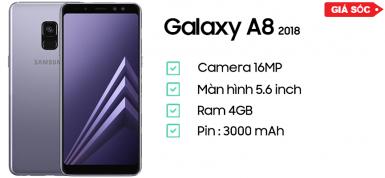 Samsung Galaxy A8 (2018) Chính Hãng