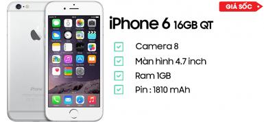 iPhone 6 16GB Quốc Tế 99%