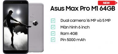Asus ZenFone Max Pro M1 (4GB/64GB) Chính Hãng (CTy)