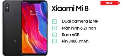 Xiaomi Mi 8 (6GB/64GB)