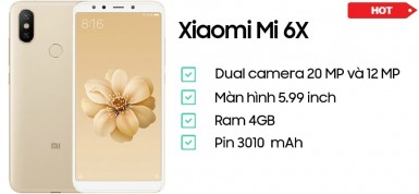 Xiaomi Mi 6X (4GB/32GB)