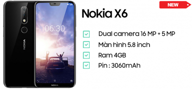 Nokia X6 (4GB/32GB)