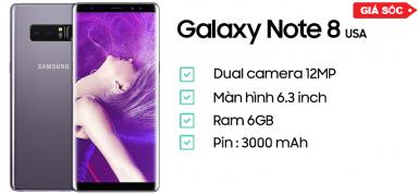 Samsung Galaxy Note 8 - Bản Mỹ