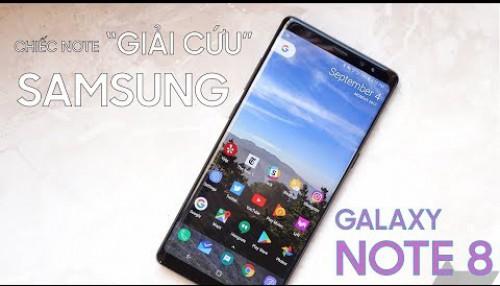 """Đây là chiếc Note """"GỒNG GÁNH"""" Samsung sau phốt Note 7!"""