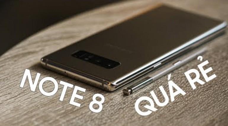 Note 8 quá rẻ sao phải mua Note 9 ?