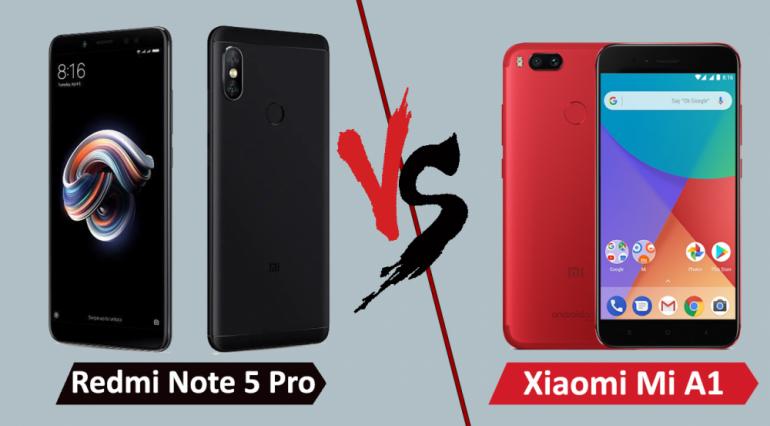 So sánh Redmi Note 5 Pro vs Mi A1 - Bạn sẽ phù hợp với máy nào?