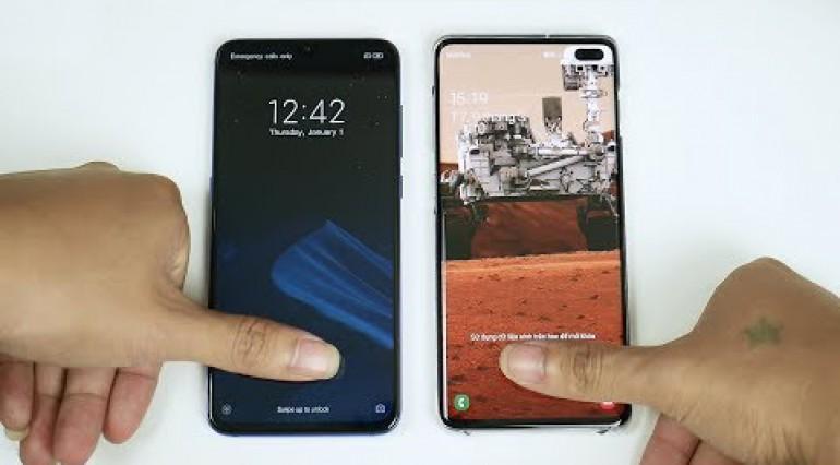 Vân tay Xiaomi Mi 9 đối đầu Samsung Galaxy S10 Plus, công nghệ nào bá đạo hơn?