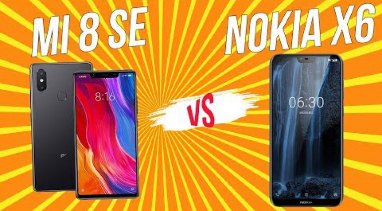 So sánh hiệu năng Xiaomi Mi 8 SE vs Nokia X6.