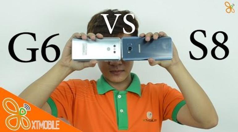 So sánh phần mềm camera S8 vs LG G6, máy nào tiện dụng hơn???