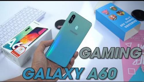 Gaming trên Samsung Galaxy A60