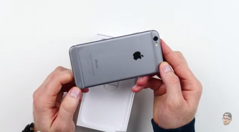 Đập hộp iPhone 6