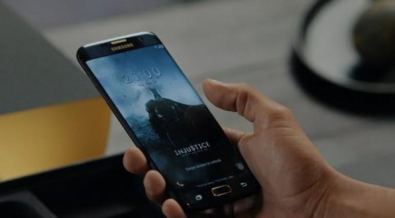 Trên tay Samsung S7 Edge Batman