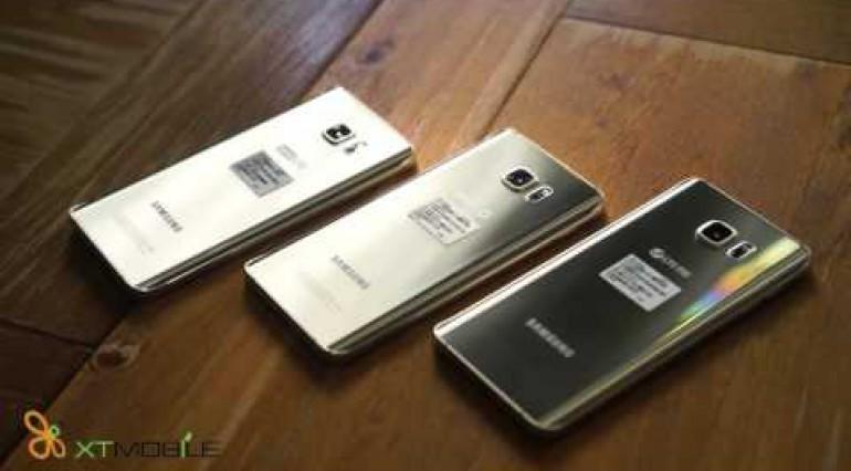 Trên tay Samsung Galaxy Note 5 phiên bản nhà mạng Hàn Quốc