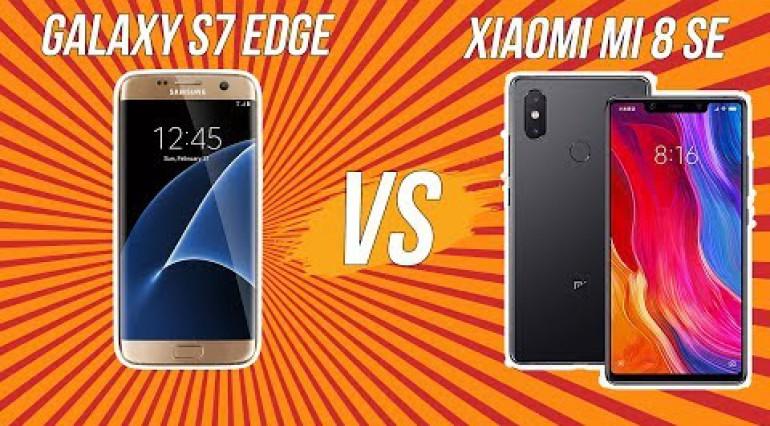 So sánh hiệu năng Mi 8 SE vs Galaxy S7 Edge!