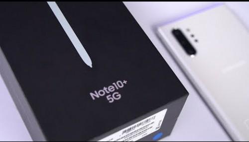Mở hộp & trên tay nhanh Note 10+ 5G đầu tiên tại Việt Nam