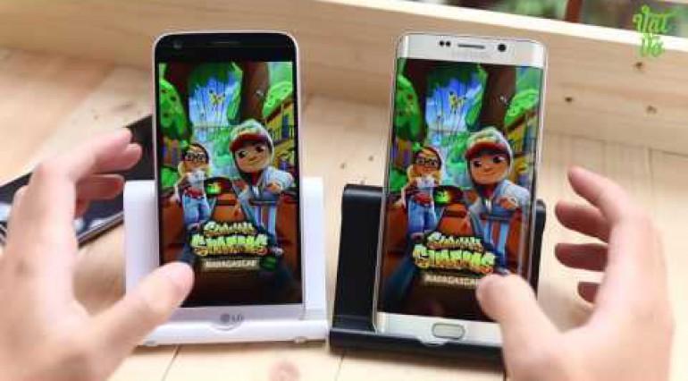 Vật Vờ So sánh LG G5 và Samsung Galaxy Note 5 S6 Edge Plus tốc độ, hiệu năng