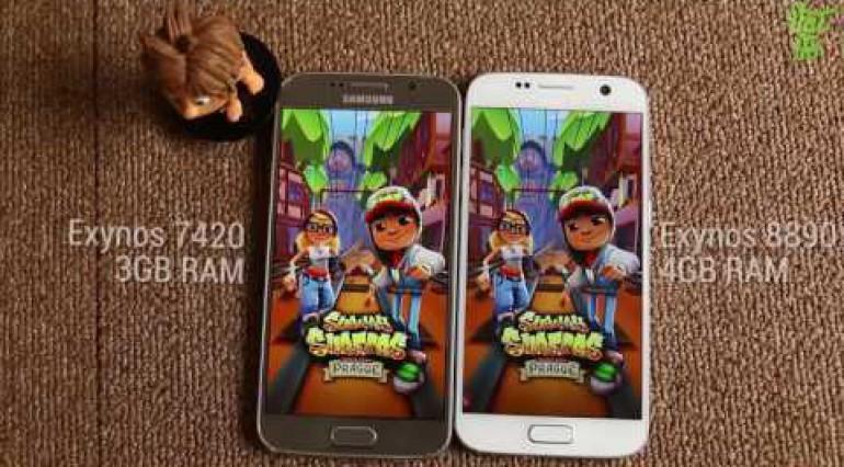 Vật Vờ So sánh Samsung Galaxy S7 và Galaxy S6 có đáng nâng cấp