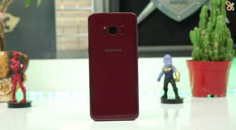 Samsung S8 Burgundy Red: Siêu phẩm mua Noel!