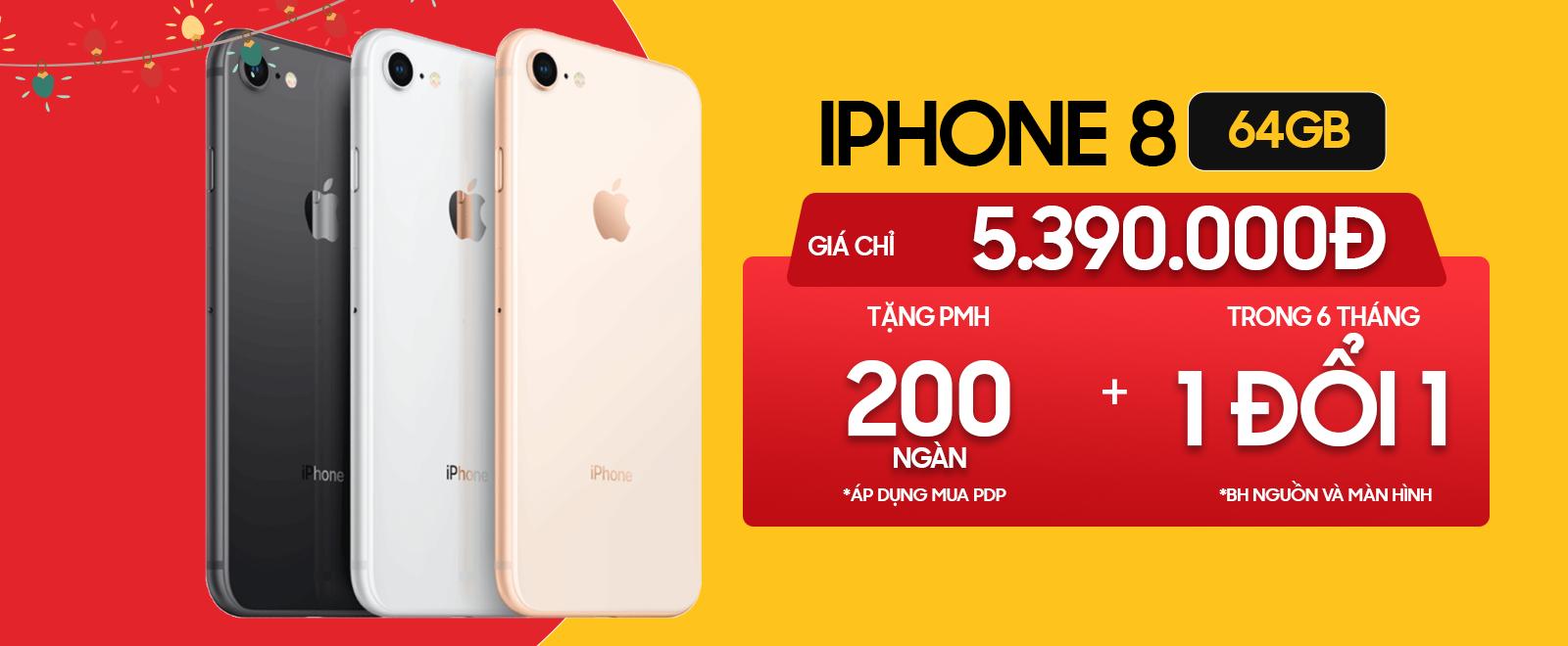 Giá iPhone 8 Chỉ Từ 5.8 triệu